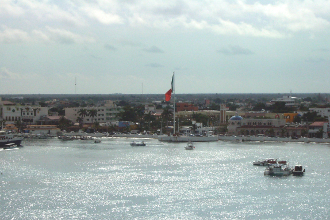 Cozumel port